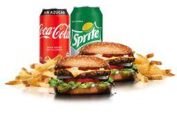 2 Combos Big Cheeseburger