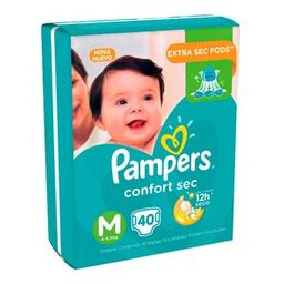 Pampers Pañal Confort M