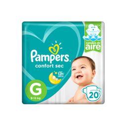 Pampers Pañal Confort G 20 U