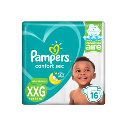 Pampers Pañal Confort Xxg 16 U
