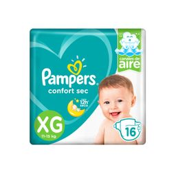 Pampers Pañal Confort Xg 16 U