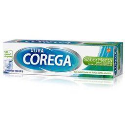 Corega Ultra Crema Menta 40Gr