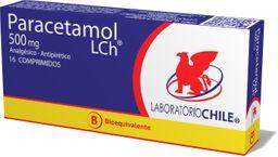 Paracetamol 500 Gr X 16 Comp