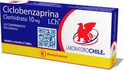 Ciclobenzaprina 10Mg X 20 Comp