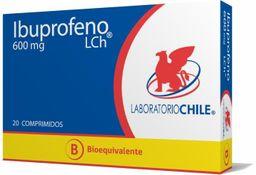 Ibuprofeno 600 Mg X 20 Comp