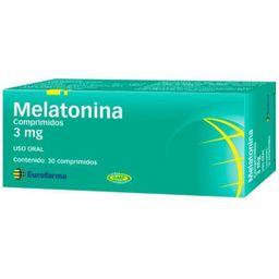 Melatonia 3 Mg X 30 Comp