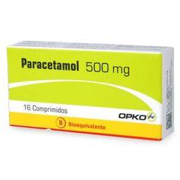 Paracetamol 500 Mg X16 Comp