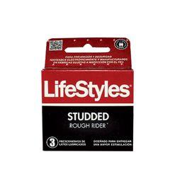 Preserv Lifestyles Studded X 3