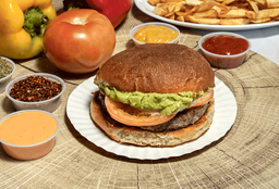 Super Hamburguesa Vegetariana Italiana