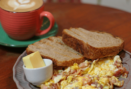 Egg & Bacon on Toast