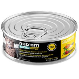 I12 Nutram Ideal Weight Control Cat Lata 156Gr