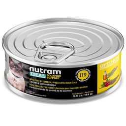 I19 Nutram Ideal Skin Coat Cat Lata 156Gr