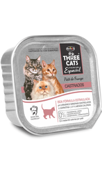Three Cats Pate Castrados 90Gr