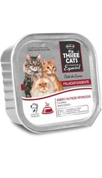 Three Cats Pate Paladar Exigente 90Gr