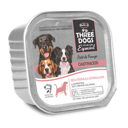 Three Dog Pate Castrado 150Gr