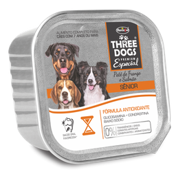 Three Dog Pate Senior 150Gr