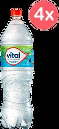 4 X Aguas Vital 1.6L