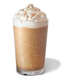 Toffe Nut Latte Frappuccino