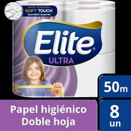 Elite Papel Higienico Doble Hoja 8 Un