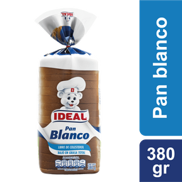 Pan Blanco Ideal 380g