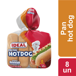 Pan Hot Dog Ideal 415g
