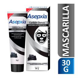 Asepxia Carbón Detox Mascarilla Peel Off
