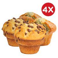 4x Muffins variedades