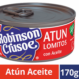 Atun Aceite Robinson Crusoe 120g