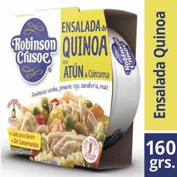 Ensalada De Atun Quinoa & Curcuma Robinson Crusoe 160g