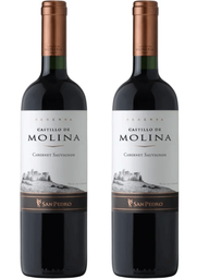 Promo: 2x Vino Reserva Castillo Molina Cavernet Sauvignon 750cc
