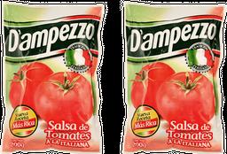 Promo: 2x Salsa de Tomate Dampezo 200g