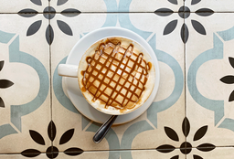 Café Dulce de leche Latte