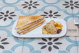Sandwich Jamón Queso Caliente