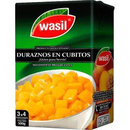 Durazno Cubito Wasil 380g