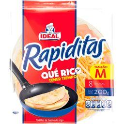 8 Tortillas Rapiditas Ideal 200Grs