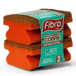 Esponja Abrasiva/Acanalada Cobre Fino