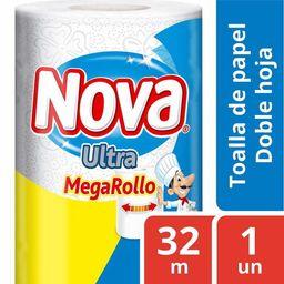 Toalla Papel 1 Rollo 32mt Nova Ultra