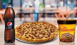 Pizza Mediana + Bebida 1.5 L + La Cremería