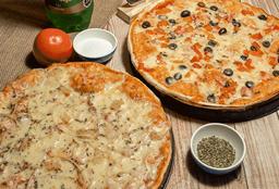 Combo 2 Pizzas (4 Ingredientes)