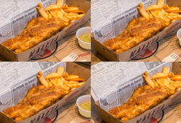 4x Fish and Chips