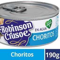 Choritos en Agua Robinson Crusoe 190g