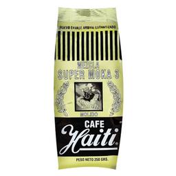Cafe Mezcla Super Moka 3 Molido Haiti 250g