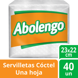 Servilleta Abolengo Economica 40Un