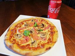Pizza Individual + Bebida 350ml