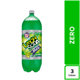 Limón Soda Zero 3 L