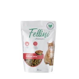 Fellini Pollo En Salsa 85 Gr