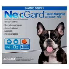 Nexgard 28,3 Mg (4,1-10 Kg) 3  Tabletas