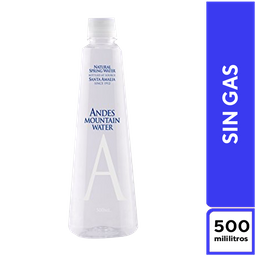 Andes Mountain Sin Gas 500 ml