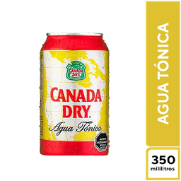 Canada Dry Agua Tónica 350 ml