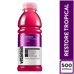 VitaminWater Restore 500 ml